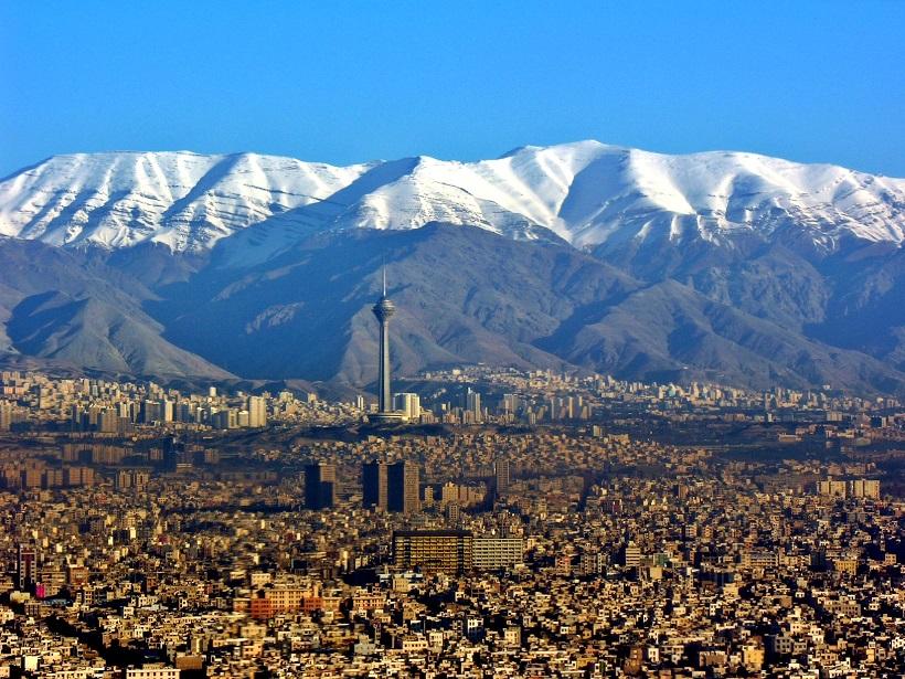 τεχεράνη βουνά