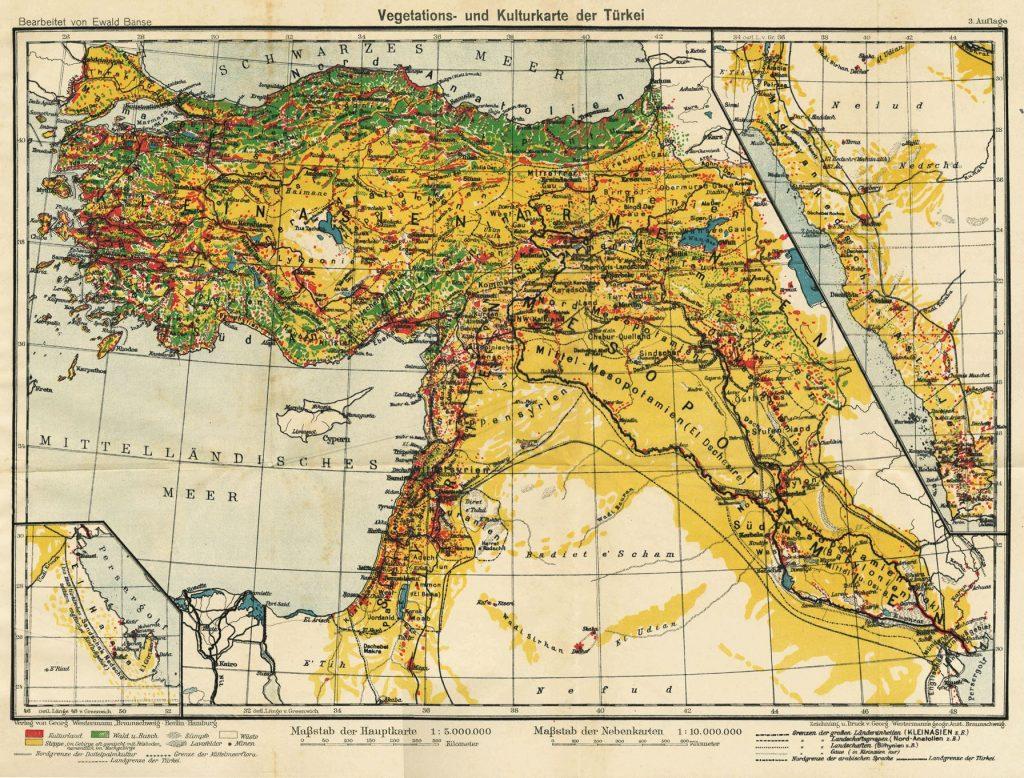 Μέση Ανατολή 1910