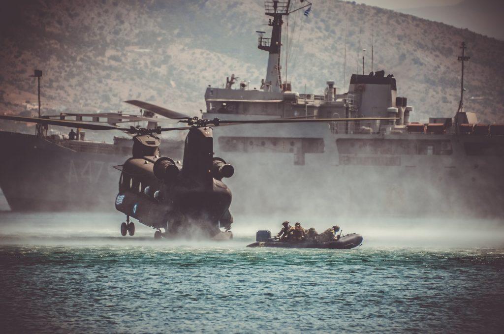 ελληνικός στρατός άσκηση