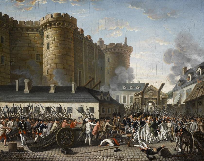 γαλλική επανάσταση άλωση βαστίλης