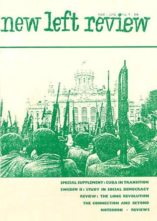 new left review εξώφυλλο 1961