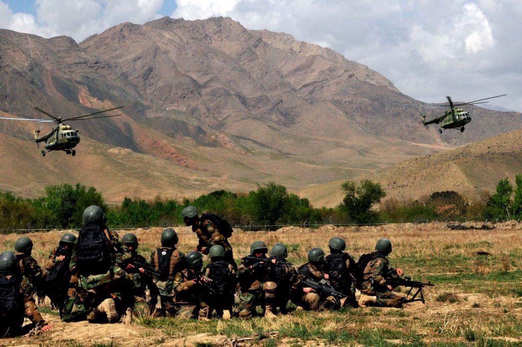 αφγανοί κομάντος