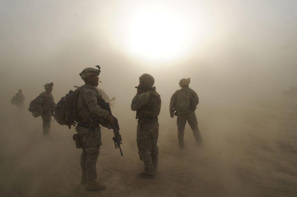 αμμοθύελλα αφγανιστάν