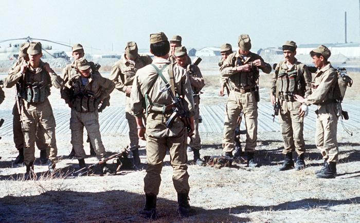 Σοβιετικά σπετσνάζ Αφγανιστάν