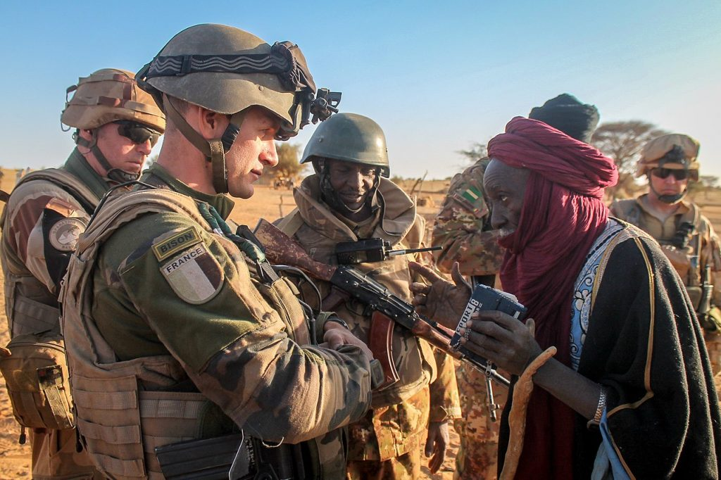γαλλικά στρατεύματα στο Σαχέλ